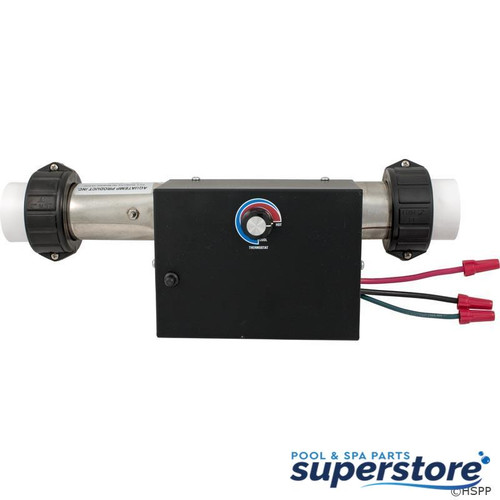 "Therm Products | Heater, FloThru, 13"" x 2"", 230v, 5.5kW, w/Box, PS, Generic 