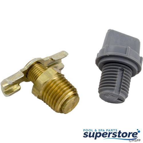 52537 Raypak Drain Plug, Raypak 185/R185A/R185B 006721F
