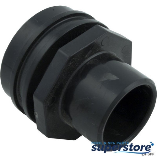 "806105077998 Waterway Plastics Eyeball Fitting, WW Flush Mount, 1-1/2""Insider, 2-1/4""fd,Blk 400-9191"