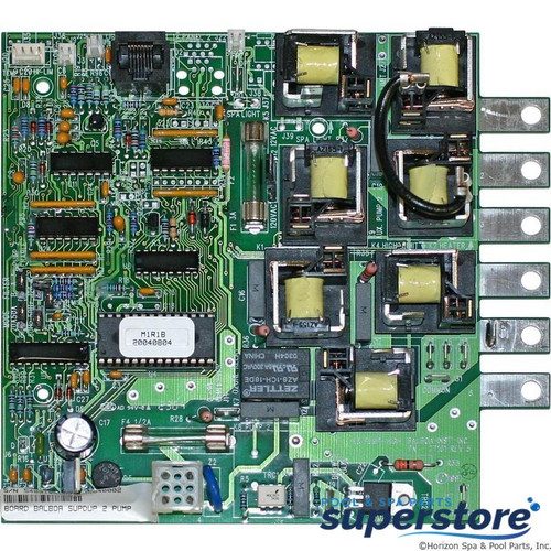 CAT100R1A Balboa Water Group PCB, Balboa, Super Duplex Digital, 54091 54091 50973 51686 51692 51786 B2DGDPR2A BH50D BSEV50 BSUN50D