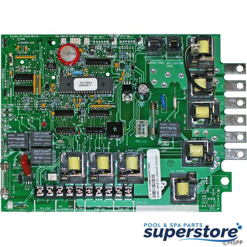 9710-19 Balboa Water Group PCB, Balboa, Deluxe and Standard, 54122 54122 M2/M3R1D SEV200F.O. BAL54122 610992