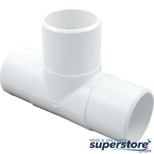 """806105084248 Waterway Plastics Tee, 2""""spg x 2""""spg x 2""""spg 413-2210"""